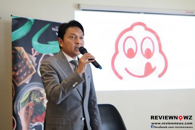 คุณธเนศวร์ เพชรสุวรรณ รองผู้ว่าการด้านสื่อสารการตลาดการท่องเที่ยวแห่งประเทศไทย
