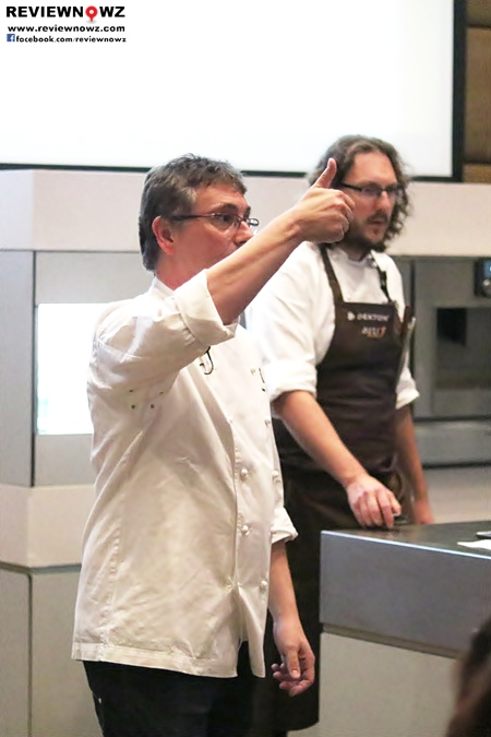 Mugaritz masterclass - thumb up