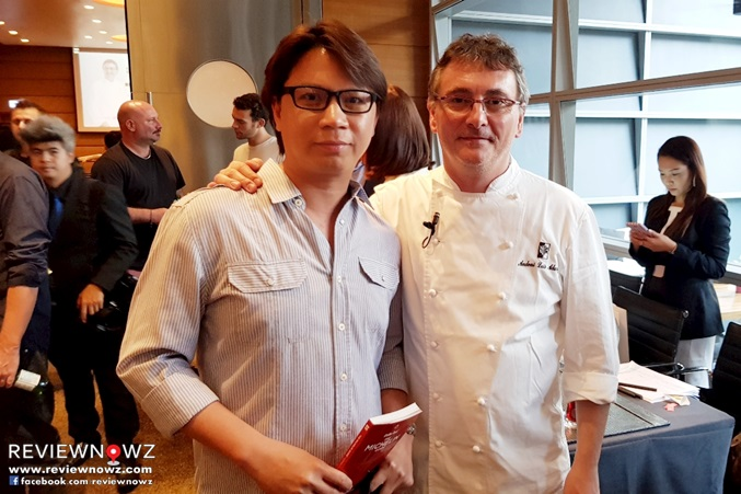 with Chef Andoni Luis Aduriz
