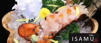 ISAMU SUSHI ร้านอาหารญี่ปุ่นน้องใหม่ล่าสุดของย่านบางนากับความอร่อยเต็มปากเต็มคำที่ต้องมาลอง