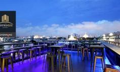 นั่งดาดฟ้ากินดื่มชมสถาปัตยกรรมไทยในย่านเมืองเก่าสวยสุดที่ The Press Sky Bar