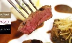 มื้อเดียววันเดียวกับ Grayson Cellars Wine Dinner สุดคุ้มที่ Hamilton's Steak House, Dusit Thani Bangkok