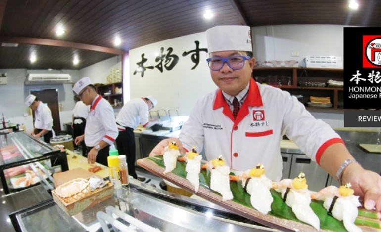 5,500 ทานไม่อั้นทุกเมนู ที่สุดของบุฟเฟ่ต์อาหารญี่ปุ่นระดับเชฟกระทะเหล็กที่ Honmono Sushi สาขาทองหล่อ