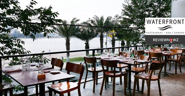 นั่งจิบคราฟเบียร์เวียดนามทานของอร่อยพร้อมชมวิวแม่น้ำ Hàn ที่ Waterfront, Danang, Vietnam