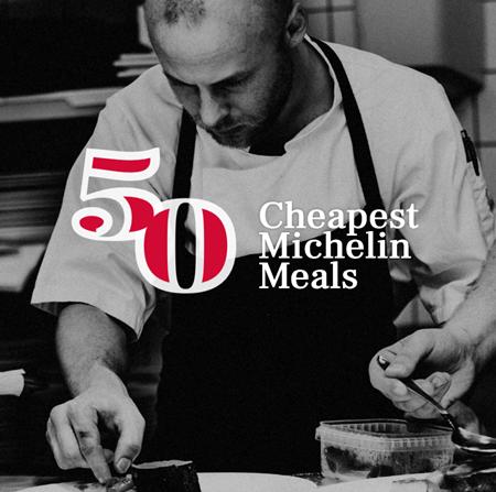 50 Cheapest Michelin 2018