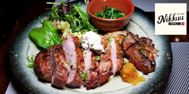 ร้านน้องใหม่ของทองหล่อกับอาหารอิตาเลี่ยนสไตล์ญี่ปุ่นที่ Nikkuu Grill