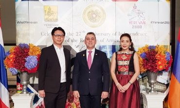 ครั้งแรกกับอาหารและเครื่องดื่มของอาร์เมเนียในงานฉลองวันชาติ Armenia ที่ The St.Regis Bangkok