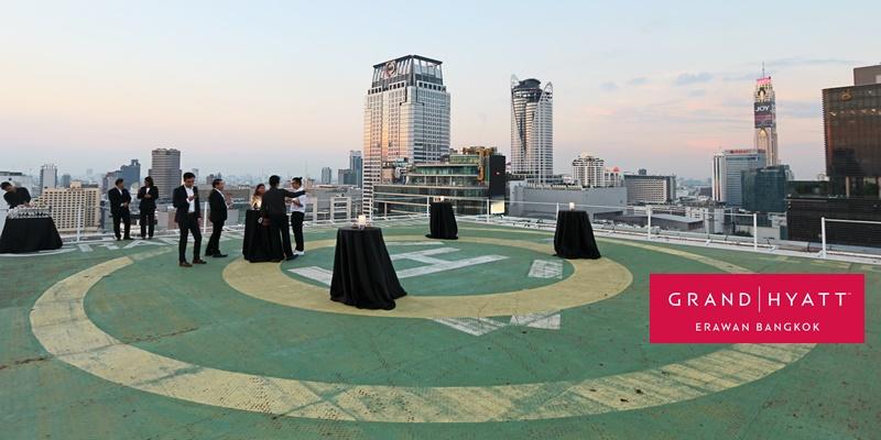 ฉลองปีใหม่ 2019 ปิดลานฮ. และสระน้ำ ยกบุฟเฟ่ต์ New Year Eve มาให้ชิมกันที่ Grand Hyatt Erawan Bangkok Hotel