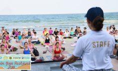 Hua Hin Yoga Festival 2019 เรียนโยคะฟรีๆที่ริมชายหาดหัวหิน จังหวัดประจวบคีรีขันธ์