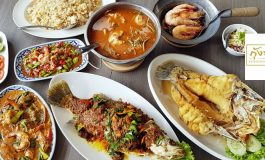 """ถึงรสถึงเครื่องอาหารไทยด้วยคอนเซ็ปต์ """"ความสุขคือการกิน"""" ที่ร้าน กุ้งทองซีฟู้ด พระราม 4"""