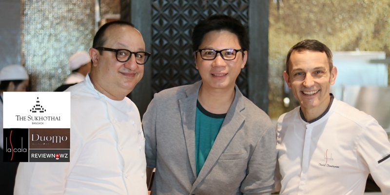 ความอร่อยโดยเชฟรับเชิญระดับมิชลิน 2 ดาวจากเกาะ Sicily ประเทศอิตาลีที่ La Scala @ The Sukhothai Bangkok