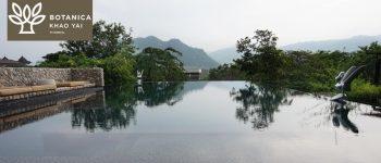 ที่พัก 5 ดาว สวยเงียบสงบ ห้องพักใหญ่ ระเบียงกว้าง แช่น้ำชมวิวเขาใหญ่สวยๆที่ Botanica Khao Yai นครราชสีมา