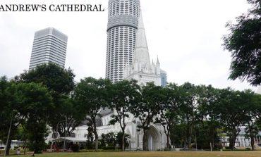 """เก่าแก่ที่สุด! ใหญ่ที่สุด! ของสิงคโปร์ที่มหาวิหารเซนต์แอนดรูว์ """"Saint Andrew's Cathedral Singapore"""""""