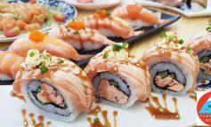 สาขาใหม่ล่าสุดกับร้านซูชิห้องแอร์เริ่มต้น 9 บาทคำใหญ่อร่อยที่ Fujisan Cafe สาขาดุสิต
