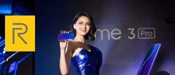 เปิดตัวมือถือสเปกแรง ถ่ายรูปสวย ราคาน่าคบกับ Realme รุ่นใหม่ล่าสุด realme 3 Pro พร้อมแอมบาสเดอร์คนแรก ใหม่ ดาวิกา