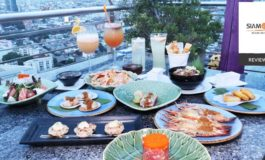 ขึ้นดาดฟ้าทาน Asian Tapas จิบ Cocktail ชมวิวสูงแบบ 360 องศาที่The Roof Gastro Rooftop Bar, Siam@Siam Design Hotel Bangkok
