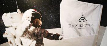 ฉลอง 50 ปีของการเยือนดวงจันทร์ที่สถานีอวกาศ The Zuk Bar @ The Sukhothai Bangkok
