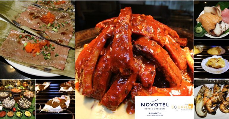 Grill & Say Cheese Dinner Buffet ส่วนลด 60% บุฟเฟ่ต์ 4 ชม.ครึ่งรวมดื่มที่ The Square @ Novotel Bangkok on Siam Square