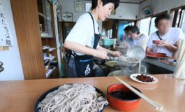 ทานฟรีไม่อั้นไม่จำกัดเวลากับโซบะและอุด้งเส้นสดที่ Oshino Noodle Factory @ Japan