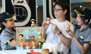 ฉลอง One Piece ครบรอบ 20 ปีกับของเล่นสะสมรุ่นพิเศษเฉพาะที่ McDonald's