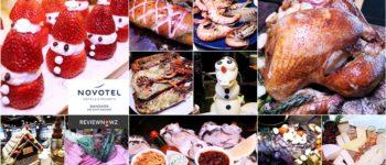 บุฟเฟ่ต์ Christmas Eve ทั้งลด 50% ทั้งแถม Loster, Oyster, หรือ Tomahawk Steak มื้อเดียววันเดียวที่ The Square @ Novotel Bangkok on Siam Square