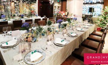 ฉลองเทศกาลแห่งความสุขคริสต์มาสและส่งท้ายปีเก่าต้อนรับปีใหม่ปีนี้ที่ Grand Hyatt Erawan Bangkok Hotel