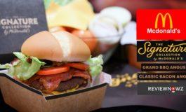 เมนูใหม่ล่าสุดกับเบอร์เกอร์ชิ้นใหญ่กัดเต็มๆคำ Grand BBQ Angus & Classic Bacon Angus จาก The Signature Collection by McDonald's
