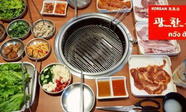 300 NET บุฟเฟ่ต์ปิ้งย่างสไตล์เกาหลีชิ้นใหญ่หนานุ่มรวมดื่มที่ Kwang Han Roo @ Korea Town สุขุมวิท 12