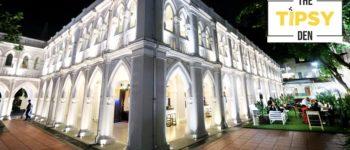 นั่งบาร์สไตล์ English Gentlemen ชมโบสถ์สวย Chijmes ที่ The Tipsy Den @ Singapore