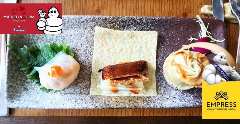 ความอร่อยระดับ Michelin Guide พร้อมวิว Boat Quay แม่น้ำสิงโปร์สวยๆที่ Empress @ Singapore