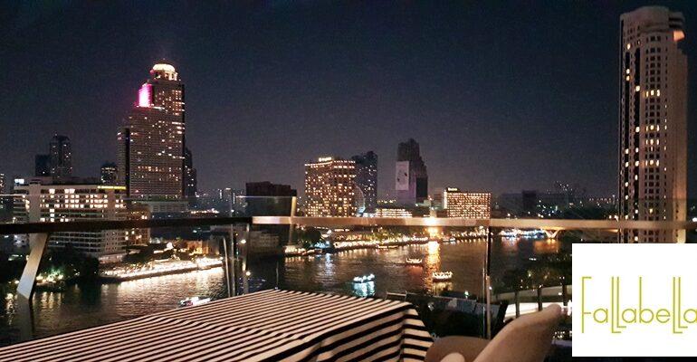 นั่งดื่มนั่งทานชมวิวแม่น้ำพระยามุมสูงแบบ 180 องศาสวยๆที่ Fallabella River Front @ Iconsiam