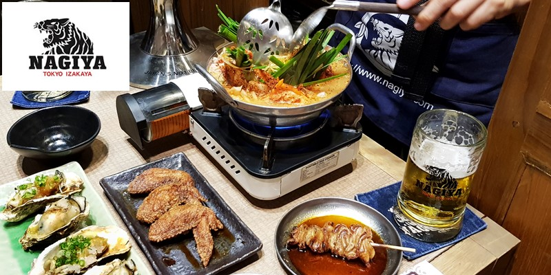 นั่งกินดื่มในร้านสไตล์ Tokyo Izakaya ที่ Nagiya Thaniya @ Silom