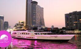 ดินเนอร์ทานไม่อั้นบุฟเฟ่ต์นานาชาติบนเรือ Wonderful Pearl Cruise ชมวิวแม่น้ำเจ้าพระยาในราคาไม่ถึงเก้าร้อย