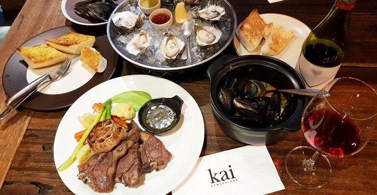 ร้านอาหารนิวซีแลนด์อารมณ์พื้นเมืองที่ Kai New Zealand @ Sathon