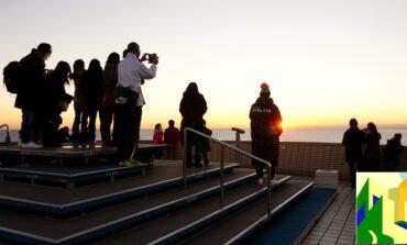 ชมพระอาทิตย์ตกริมมหาสมุทรแปซิฟิกที่เมือง Choshi @ Chiba, Japan